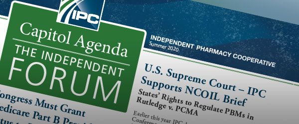 IPC Capitol Agenda the Independent Forum